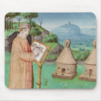 Virgil  writing the Life of Bees Mouse Mat