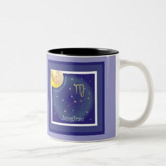 Virgin 23 August until 23 September cup Two-Tone Mug