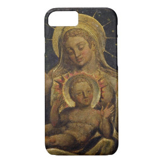 Virgin and Child, 1825 (tempera on panel) iPhone 7 Case