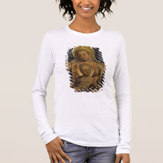 Virgin and Child, 1825 (tempera on panel) Long Sleeve T-Shirt