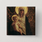 Virgin and Child, 1872 15 Cm Square Badge