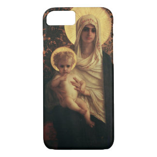Virgin and Child, 1872 iPhone 7 Case