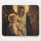 Virgin and Child, 1872 Mouse Mat