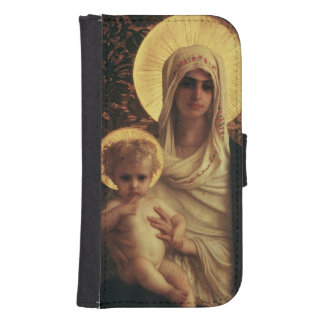 Virgin and Child, 1872 Galaxy S4 Wallet Case