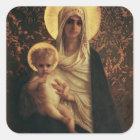Virgin and Child, 1872 Square Sticker