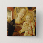 Virgin and Child 2 15 Cm Square Badge