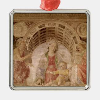 Virgin and Child 2 Christmas Ornament
