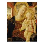 Virgin and Child 2 Postcard