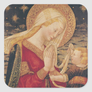 Virgin and Child 2 Stickers