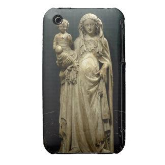Virgin and Child, c.1375 (alabaster) iPhone 3 Case-Mate Case
