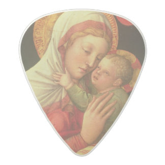 Virgin and Child, c.1465 (oil on panel) Acetal Guitar Pick