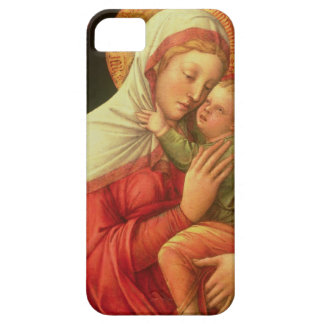Virgin and Child, c.1465 (oil on panel) iPhone 5 Cases