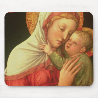 Virgin and Child, c.1465 (oil on panel) Mouse Pads