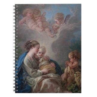 Virgin and Child - François Boucher Note Books