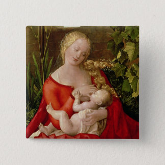 Virgin and Child 'Madonna with the Iris', 1508 15 Cm Square Badge