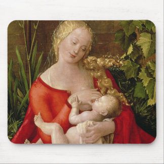 Virgin and Child 'Madonna with the Iris', 1508 Mouse Mat