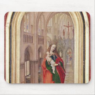 Virgin and Child Mouse Pad