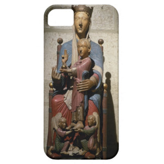 Virgin and Child, (polychrome wood) Barely There iPhone 5 Case