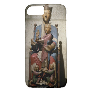 Virgin and Child, (polychrome wood) iPhone 8/7 Case