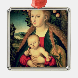 Virgin and Child under an Apple Tree Christmas Ornament