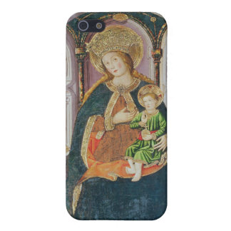 Virgin and Child with Angel Musicians iPhone 5 Cover