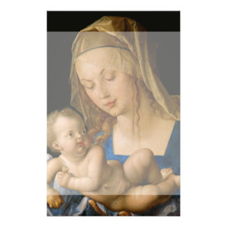 Virgin and Child with Pear by Albrecht Durer Full Color Flyer