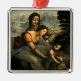 Virgin and Child with St. Anne, c.1510 Christmas Ornament