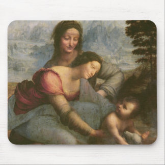 Virgin and Child with St. Anne, c.1510 Mouse Pad