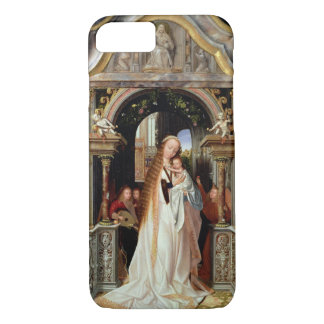 Virgin and Child with Three Angels, central panel iPhone 8/7 Case