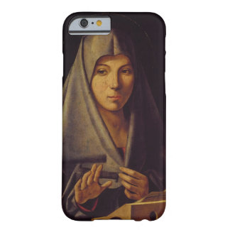 Virgin Annunciate (oil on panel) Barely There iPhone 6 Case
