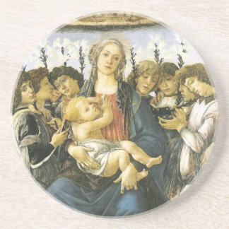 Virgin, Child and Angels Ornament Coaster