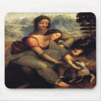 Virgin & Child w/ St.Anne & Lamb Mouse Pads