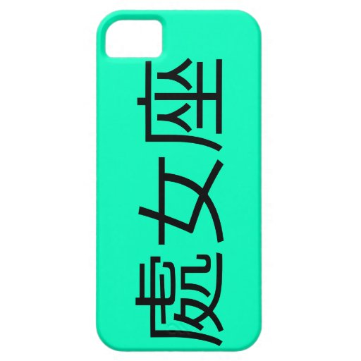 Virgin - Chinese, Chinese writing iPhone 5 Covers