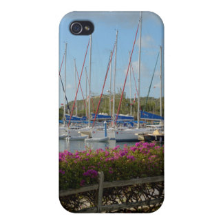 Virgin Gorda Yacht Harbor iPhone 4 Case