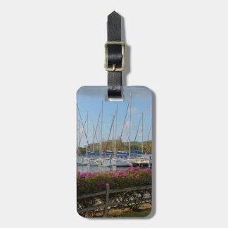Virgin Gorda Yacht Harbor Luggage Tag