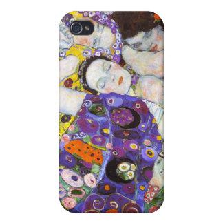 Virgin, Gustav Klimt Cover For iPhone 4