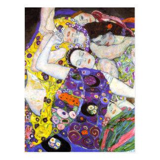Virgin Gustav Klimt Post Card