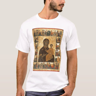 Virgin Hodegetria Icon of Smolensk, c.1450 (temper T-Shirt