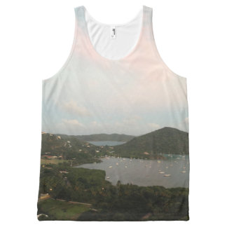 Virgin Islands All-Over Print Tank Top