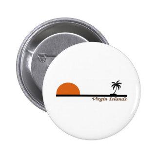 Virgin Islands Pinback Buttons