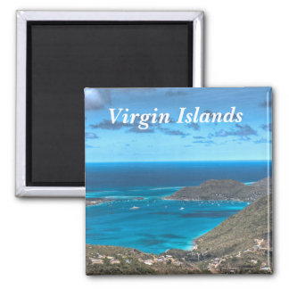 Virgin Islands Bay Magnet