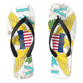 Virgin Islands Flip Flops