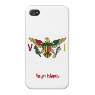 Virgin Islands iPhone 4 Case