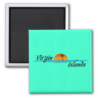 Virgin Islands Magnet