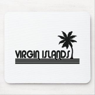 Virgin Islands Mouse Pads
