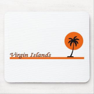 Virgin Islands Mousepads