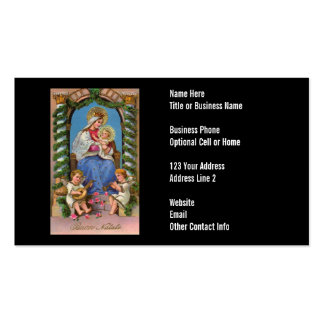 Virgin Mary and Baby Jesus Business Cards