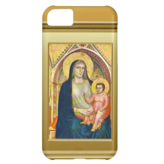 Virgin Mary and child Jesus iPhone 5C Cover