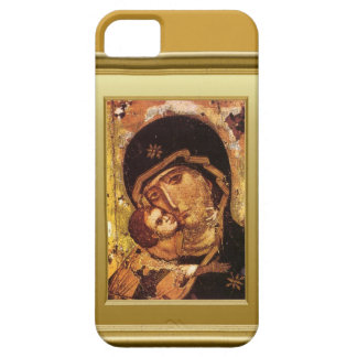 Virgin Mary and child Jesus iPhone 5 Cases