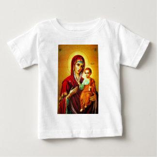 Virgin Mary and Jesus Baby T-Shirt
